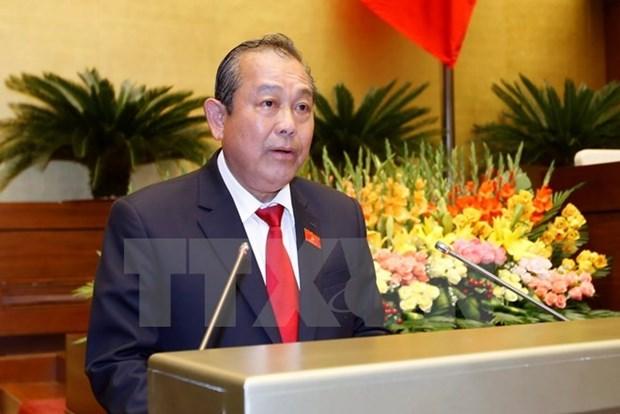 Instan a mejorar la formacion de funcionarios para la reforma administrativa hinh anh 1