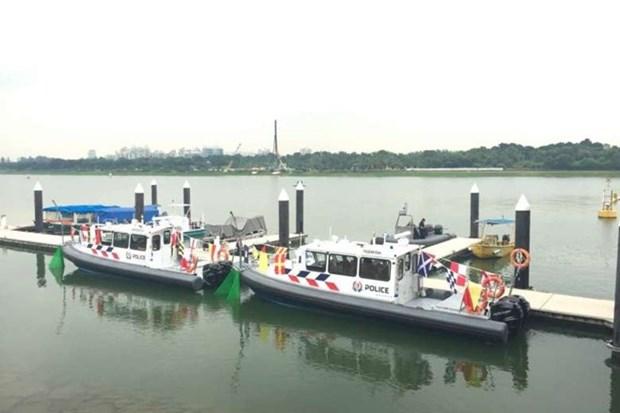 Guardia costera de Singapur tiene otros dos barcos patrulleros hinh anh 1