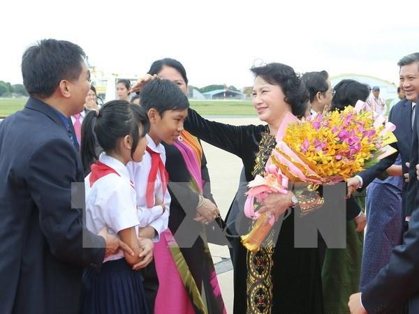 Vietnamitas en Camboya son partes inseparables de la Patria hinh anh 1