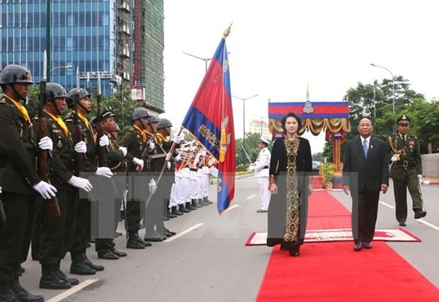 Robustecen nexos parlamentarios Vietnam – Camboya hinh anh 1
