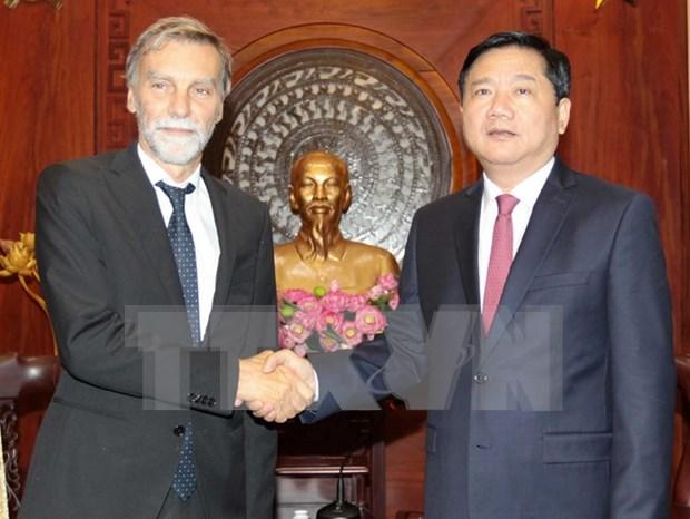 Ciudad Ho Chi Minh impulsa cooperacion con Italia en desarrollo urbano hinh anh 1