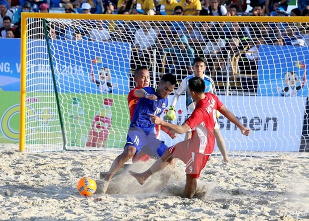 Vietnam aumenta cosecha dorada en Juegos Asiaticos de Playa hinh anh 1