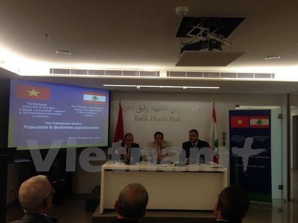 Vietnam y Libano amplian cooperacion en diversos sectores hinh anh 1