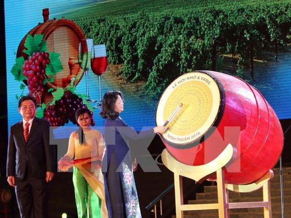 Efectuan en Vietnam Festival de Uvas y Vinos hinh anh 1