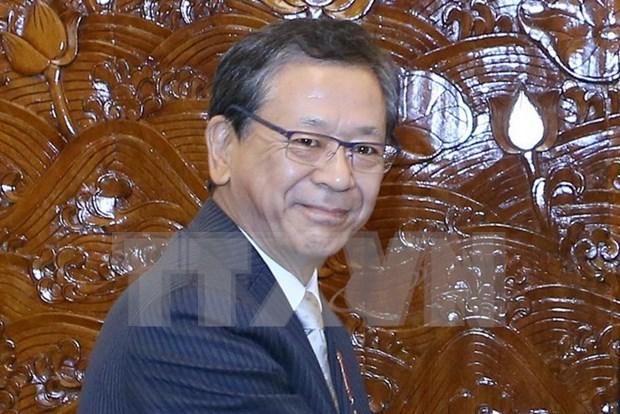 Vietnam entrega Orden de Amistad a embajador japones hinh anh 1