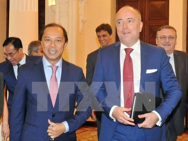 Hungria ratificara pronto Tratado de Libre Comercio Vietnam-UE hinh anh 1