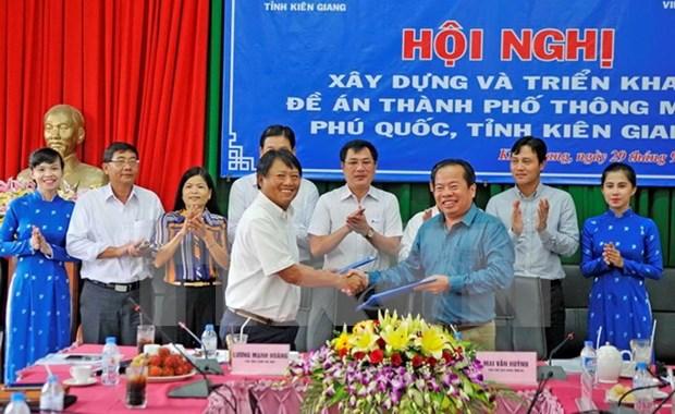 Arranca proyecto de construccion de ciudad inteligente en provincia de Vietnam hinh anh 1