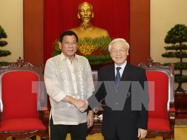 Filipinas prioriza impulso de cooperacion multifacetica con Vietnam hinh anh 1