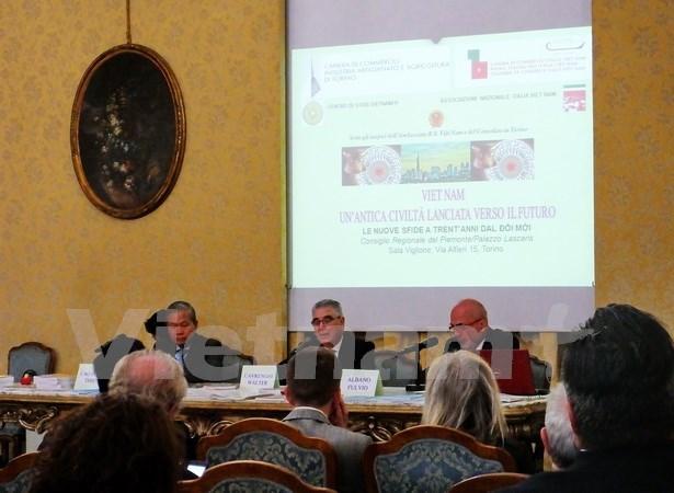 Celebran en Italia seminario sobre Vietnam despues de 30 anos de Renovacion hinh anh 1