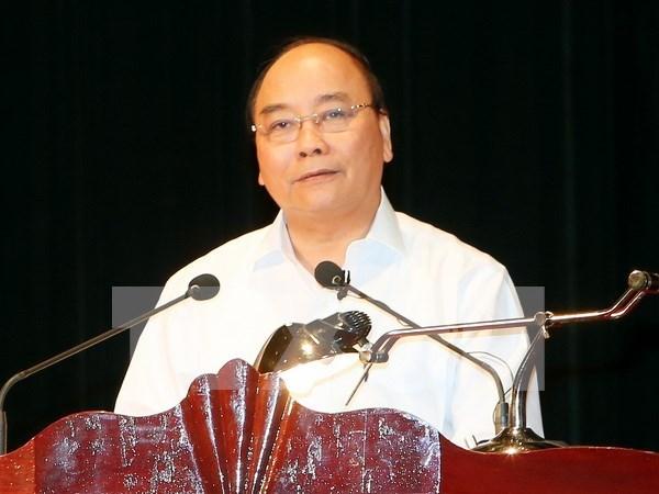 Premier vietnamita visita a habitantes en zona de reasentamiento hinh anh 1