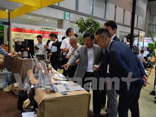 Presentan cafe arabica de Vietnam en mercado japones hinh anh 1
