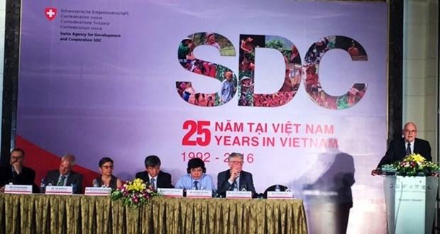 Suiza ayuda a Vietnam para lograr crecimiento economico sostenible hinh anh 1