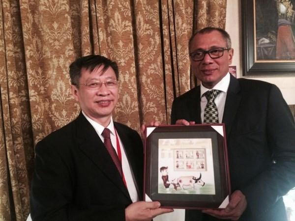 Delegacion partidista de Vietnam asiste a Encuentro Latinoamericano Progresista hinh anh 1