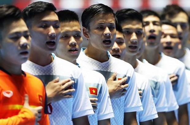 Vietnam gana premio de juego limpio en Copa Mundial de futsal hinh anh 1