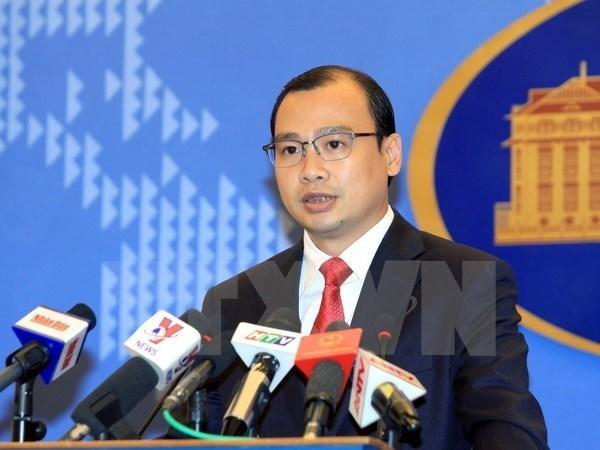 Vietnam exige a China que cese violaciones a su soberania en Hoang Sa hinh anh 1