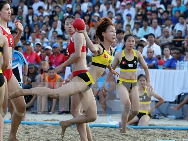 Vietnam termina en la cima del medallero de los Juegos Asiaticos de Playa hinh anh 1