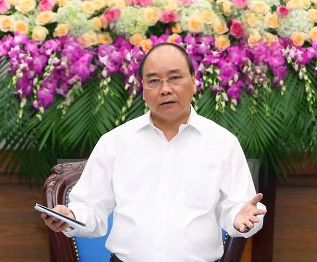 Premier de Vietnam exhorta a lograr crecimiento economico de 6,3 a 6,5 por ciento hinh anh 1