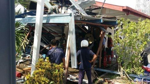 Malasia: Caida de helicoptero militar contra escuela deja cuatro heridos hinh anh 1