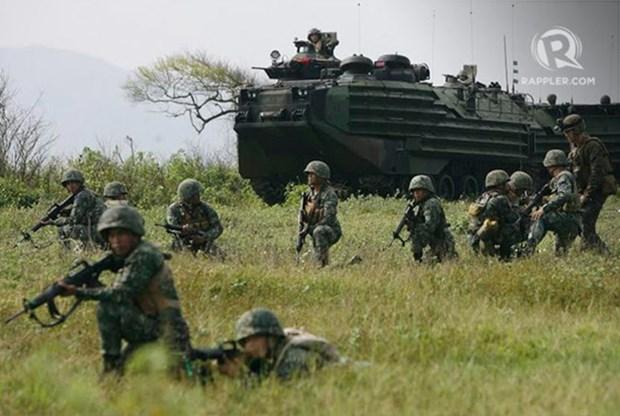 Estados Unidos y Filipinas realizan ejercicio PHIBLEX 33 hinh anh 1