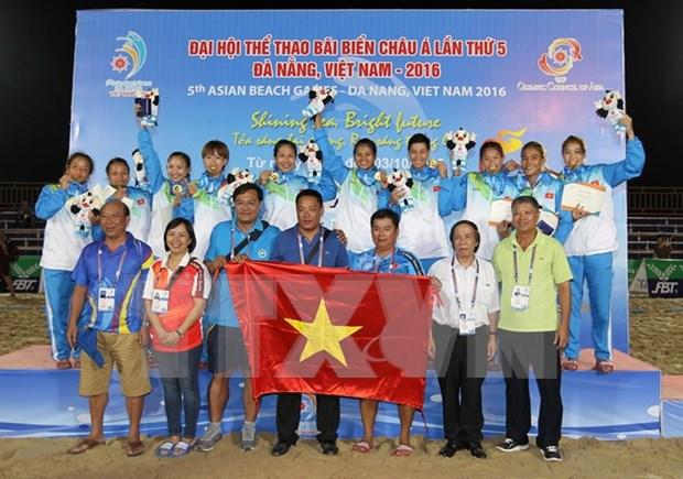 Concluyen en Vietnam Juegos Asiaticos de Playa hinh anh 1