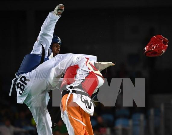 Vietnam obtiene dos medallas doradas en torneo mundial de taekwondo hinh anh 1
