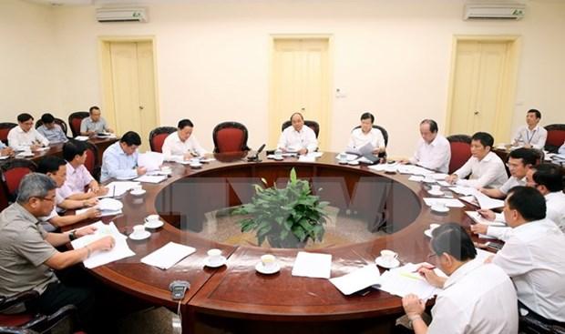 Premier de Vietnam exige esfuerzos por garantizar suministro de energia hinh anh 1
