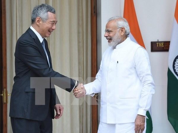 Singapur e India se comprometen a profundizar nexos bilaterales hinh anh 1