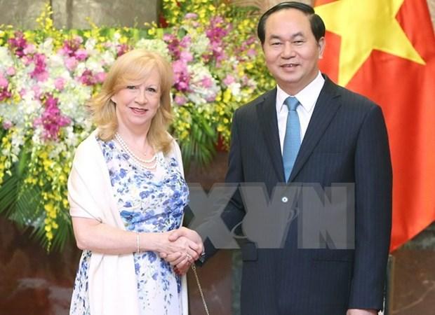 Reino Unido valora los lazos con Vietnam hinh anh 1
