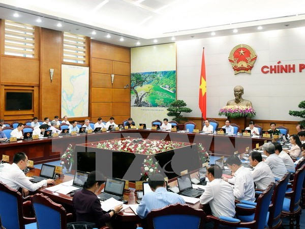 Gobierno de Vietnam discute meta de crecimiento economico para 2016 hinh anh 1