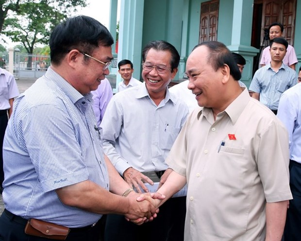 Premier de Vietnam urge a distrito norteno convertirse en moderna zona rural hinh anh 1