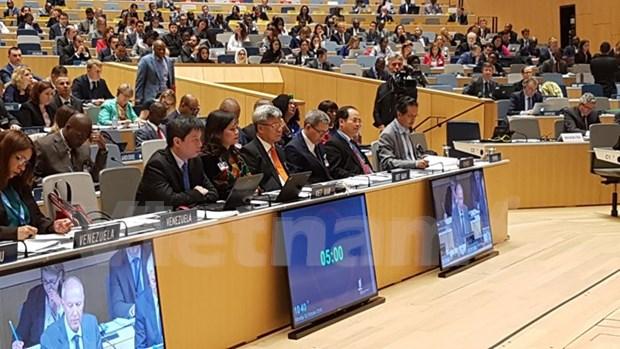 Vietnam reitera en Ginebra compromiso a proteccion de propiedad intelectual hinh anh 1