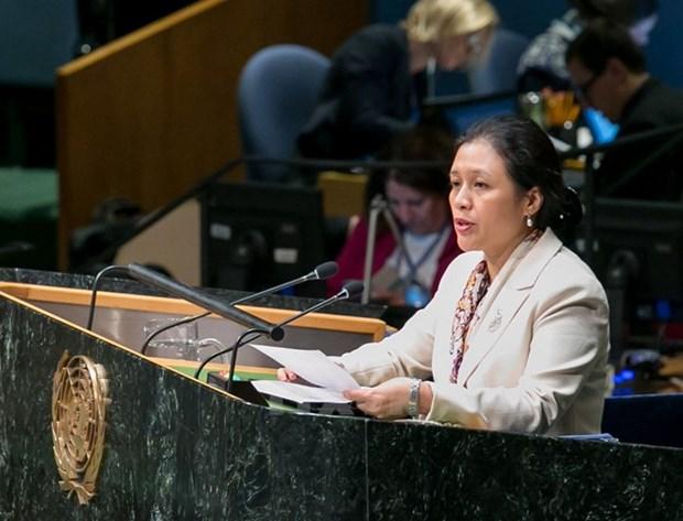 Vietnam reitera en Nueva York apoyo a desarme integral y radical hinh anh 1