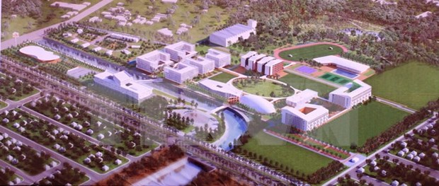 Inician construccion de Universidad Vietnam–Alemania hinh anh 1
