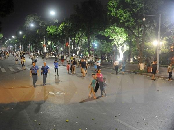 Aplazan ampliacion de espacio peatonal en casco antiguo de Hanoi hinh anh 1