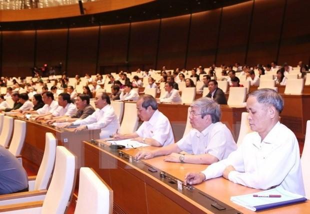 Asamblea Nacional de Vietnam examina Ley de Asistencia para Pymes hinh anh 1
