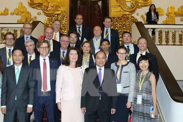 Vietnam confirma importancia de relaciones con Suecia hinh anh 1