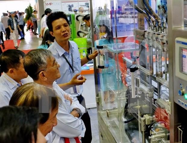 Feria comercial de Vietnam abre sus puertas en Phnom Penh hinh anh 1
