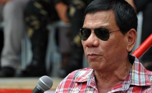 Presidente de Filipinas seguira con la lucha contra drogas hinh anh 1