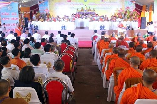 Celebran aniversario de fundacion de Sangha Budista de Vietnam hinh anh 1