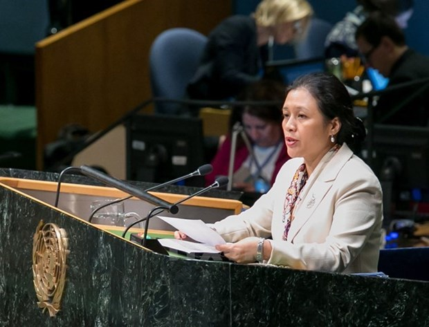 Vietnam llama a construir orden mundial de acuerdo con la ley internacional hinh anh 1