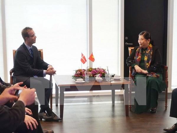 Considera Vietnam importantes relaciones con Dinamarca hinh anh 1