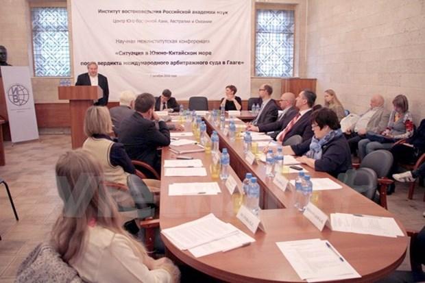 Expertos analizan en Rusia situacion actual en el Mar del Este hinh anh 1
