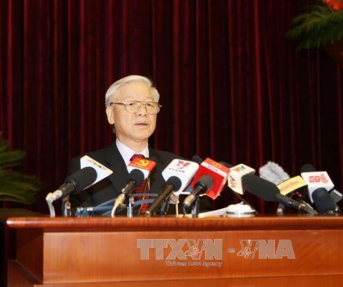 Lider de PCV exhorta a medidas drasticas para impulsar avance socioeconomico hinh anh 1