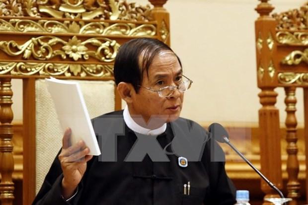 Sesiones parlamentarias de Myanmar se aplazan a noviembre proximo hinh anh 1