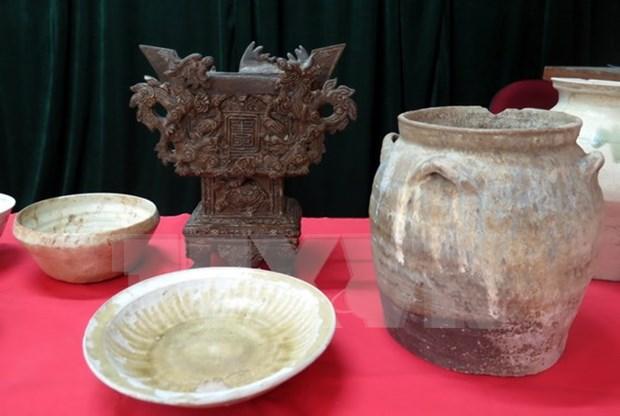 En Alemania exposicion de tesoros antiguos de Vietnam hinh anh 1