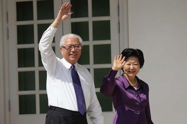 Presidente de Singapur visita Noruega hinh anh 1