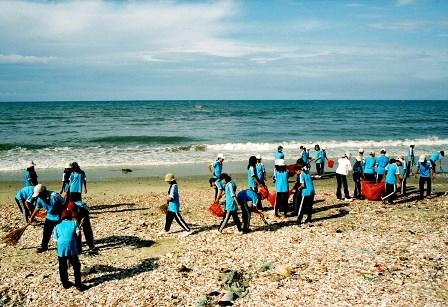 Impulsan proteccion de medio ambiente marino en provincia survietnamita hinh anh 1