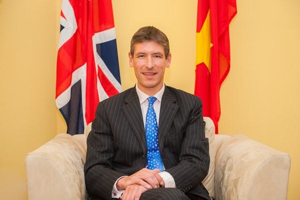 Fomentar cooperacion economica con Vietnam es objetivo de Reino Unido tras Brexit hinh anh 1