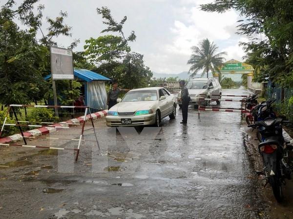 Atentado en Myanmar deja nueve muertos hinh anh 1