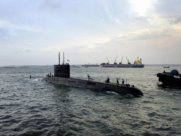 India e Indonesia realizan ejercicio conjunto en el mar hinh anh 1